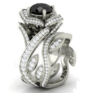 Jewelry - Stunning 925 sterling silver black onyx